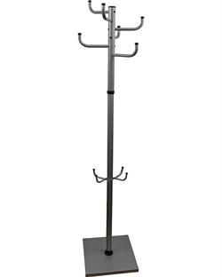 Вешалка напольная Мажор 1-З серый