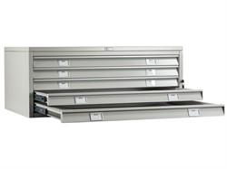 Шкаф картотека для больших форматов A0-05/1 (верх) (ПРАКТИК)
