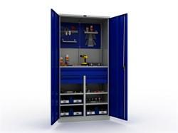 Шкаф инструментальный TC-1995-121412 с аксессуарами (приобретаются отдельно).