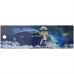 """Закладка для книг 3D с движением 152*52 мм """"Повелитель планет"""", декоративный шнурок - фото 7147"""