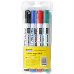 Набор маркеров для досок 4цв.