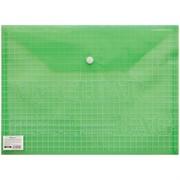 """Папка-конверт на кнопке А4, """"My Clear Bag"""", 140мкм"""