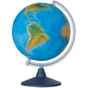 """Глобус физико-политический """"Elite"""" 20см с подсветкой на круглой подставке"""