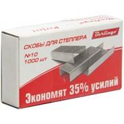"""Скобы для степлера №10 """"Perfect"""", оцинкованные, 1000 шт, энергосберегающие"""