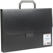 Папка-портфель 7 отделений OfficeSpace®, 700мкм, черный