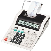 Калькулятор печатающий CX-123N 12 разрядов, 180*255*61 мм, 2-цветная печать, ЖК дисплей