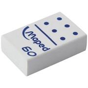 """Ластик """"Domino"""", прямоугольный, пластик, 28*19*9мм"""