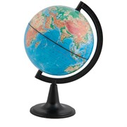 Глобус физический 15 см на круглой подставке