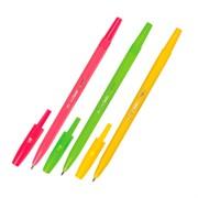 """Ручка шариковая """"Тропик"""" синяя, 1 мм, ассорти"""
