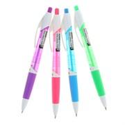 """Ручка шариковая автоматическая """"FIORE"""", синяя, 0,7мм, грип"""