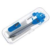 Готовальня 3пред (циркуль,грифель,точилка) в пластик пенале CALLIGRATA