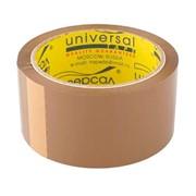 """Клейкая лента упаковочная 48мм*50м, темная, """"Универсал"""""""