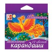 "Карандаши масляные ""Фантазия"" 12цв., картон. уп., европодвес"