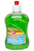 Жидкое мыло «Радуга», яблоко, пуш пулл, 500мл.