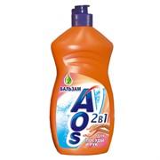 "Средство для мытья посуды ""AOS Бальзам"", 500 мл."