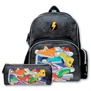 """Набор школьный Феникс+ """"2 в 1"""" (рюкзак 35*27*13 см, 1 отделение, 3 кармана; пенал 20.5*5.5*7.5 см без наполнения)"""