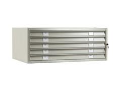 Шкаф картотека для больших форматов A1-05/2 (промежуточная секция) (ПРАКТИК)
