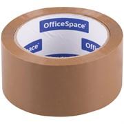 Клейкая лента упаковочная OfficeSpace, 48мм*66м, 45мкм, темная, ШК