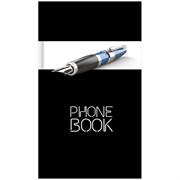 """Телефонная книга А5, 80л., 7БЦ, """"Офис. Престиж"""", выборочный уф-лак, с высечкой"""
