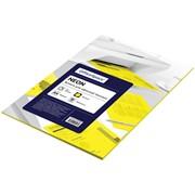Бумага цветная OfficeSpace neon А4, 80г/м2, 50л. (желтый)