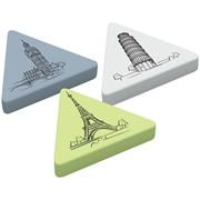 "Ластик ""Triangle XL"", треугольный, термопластичная резина, 55*55*55*9мм"