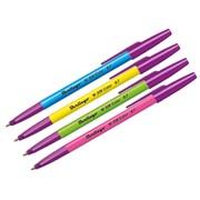 """Ручка шариковая """"W-219 Color"""", синяя, 0,7мм, ассорти"""